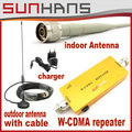 Direct Marketing Sunhans W-CDMA 2100Mhz 3G repeater coverage 1000square 3g booster mobile phone booster amplifier repeater