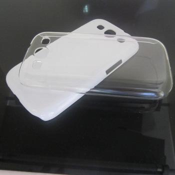 Wholesale back cover 1400pcs/lot Transparent Hard Clear Case For Samsung I9300
