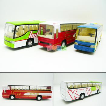 4 bus alloy car model plain