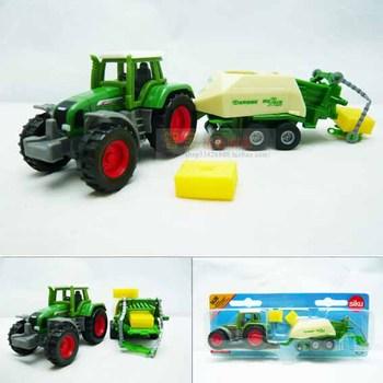 4 siku tractor focusses bundling machine mini exquisite alloy car model