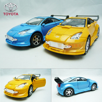 4 TOYOTA car model celica alloy acoustooptical WARRIOR