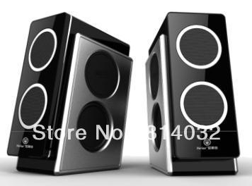 Free Shipping Computer Speakers Portable Stereo Dock Speaker(China (Mainland))