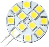 G4 LED Light / 12-SMD5050 Led car light / reading lamp for VEHICLE 10pcs