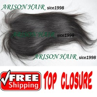 human hair parting weave closure 4*4 virgin lace top closure in Free Shipping Fast delivery