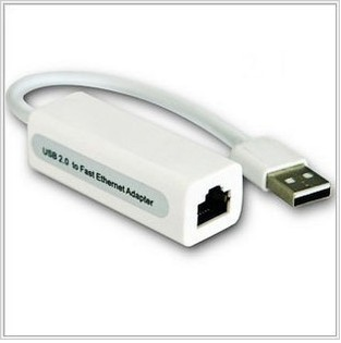 Mini USB 2.0 to RJ45 LAN Ethernet Network Adapter for PC, MAC, Laptop, Tabelt