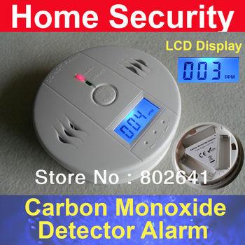 Home Security CO Gas Carbon Monoxide Alarm Detector CE/Rohs/EN50291 Approved