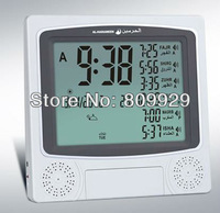 2013 new   Fajr alarm 1500cities  adjustable latitude and longitude Azan prayer  mosque  clock  5 /lots DHL Free shipping cost