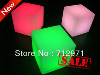 2012 hot sell Product  LED cube chair for outdoor party
