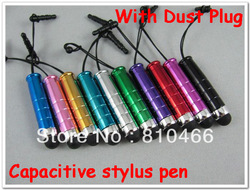 High quality touch pen stylus pen free writing for all capacitive screen cellphone tablet PC PDA &amp; 500pcs(China (Mainland))