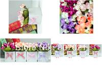 tea table dresser decoration simulation flowers Korean aesthetic dried flower silk flower artificial flowers rose flower pot