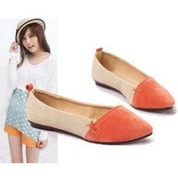 2013 New Summer Korean Sweet Girl Flat Comfort Shoes comfortable flat shoes