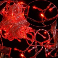 AA Battery White 80 LED String Fairy Lights Decorate Christmas
