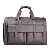 Santagolf discover golf cowhide men's handbag travel bag large capacity shoulder bag genuine leather