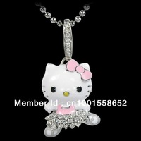 wholesale,Free Shipping,wholesale hello kitty jewelry,hello kitty mascot costume with free jewelry gift -12pcs a lot  HT-1113