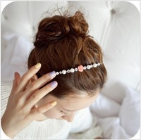 Free shipping minimal Mixed styles $5 Tiara Flower headbands RoseHair Jewelry A7R16