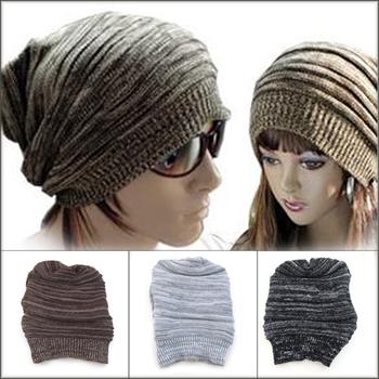 New Winter Warmer Knitting Ski Slouch Hip-hop Beret Beanie Baggy Crochet Hat Cap NEW[240604]