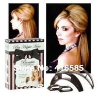 Free shipping 1PC Bumpits Big Happie Hair Bump it Hair BRUNETTE Hair Bumpit AS SEEM OM TV