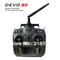 Walkera DEVO 8S 8-Ch 2.4Ghz Telemetry System Radio 8ch rc helicopter Transmitter with RX802 Receiver TX/RX boy toy
