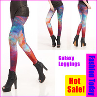 Женские джинсовые леггинсы Print Rope Elastic Stretchy Skinny Tight Pants Leggings 13159 Size