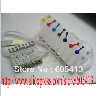CISS for Epson Stylus Photo R2000 printer with ARC chips and full of Pigment ink T1590/1/2/3/4/7/8/9(China (Mainland))