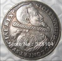 Poland 1614 TALAR SIGIS III Zygmunt III super coin COPY FREE SHIPPING