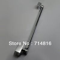 400mm long double side glass clamp shower support bar,glass to glass shower support connector