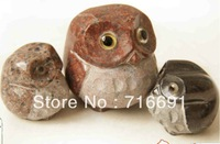FREE SHIPPING, fashion lovely stone carving owl