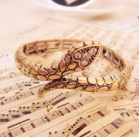 Newest Adjustable Elastic Snake Lady Bangles /bracelets Free shipping Min order 10USD+gift   SL5044