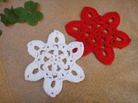 Free shipping wholesale hand crochet Doily cup mat ,coaster 11CMX11CM 20PCS/LOT crochet applique CD025