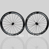 C50 bike wheels 50mm clincher wheels road / racing carbon fiber bicycle wheels/wheelset