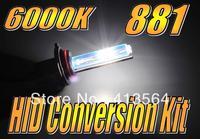881 862 886 889 894 896 898 899 6000K Xenon HID Conversion Kit Super White 12V 35W Headlight Single Beam Fog Lamp