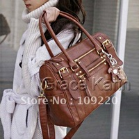 Free Shipping New GK Fashion Women PU Leather Fashion Handbag Shoulder Messenger Satchel Bag BG50