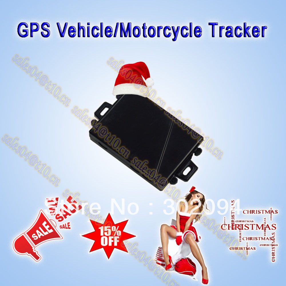 CE, FCC & Rohs certificated,waterproof mini gps car/motorcycle tracker MT113, send sms to get real address for free(China (Mainland))