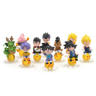 dragon ball z miniatures Action figures toys children toy best gifts for friends for man children 20pcs/lot egg freeshipping
