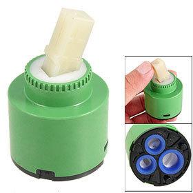 2 Pcs Faucet Water Tap Faucets Ceramic Cartridge Valve Green Free Shipping