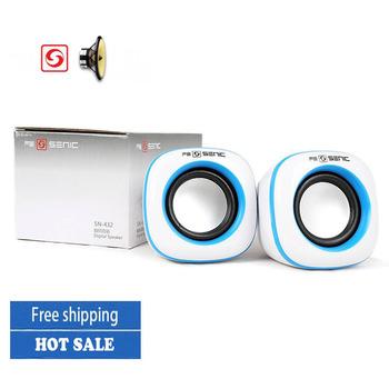 Free shipping New arrival portable speaker subwoofer multimedia mini speaker mini usb2.0 amplifier for laptop MP3MP4 tablet PC