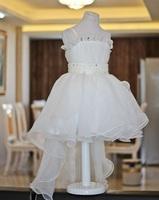 Free ship beautiful  flower girl dress ball gown kids party  pettiskirt dresses baby girl princess costume dresses  GD027