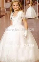 Flower girl dresses for weddings Girl party dress Flower Girls dresses  LJ04 Vestido de dama de honra de crianca