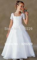 Flower girl dresses for weddings Girl party dress Flower Girls dresses  LJ010 Vestido de dama de honra de crianca