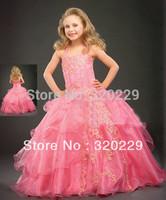 Flower girl dresses for weddings Girl party dress Flower Girls dresses  LJ012 Vestido de dama de honra de crianca