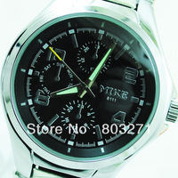 Hongkong Mike luxury waterproof needle male watch-Free Shipping
