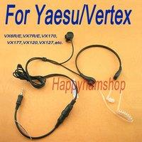 For Yaesu Vertex VX-6R VX-7R VX170 VX-177 VX-120 VX-127 Two Way Radio Throat Mic