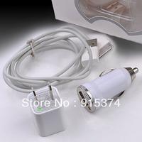 Зарядное устройство для мобильных телефонов 2 in 1 USB Data Cable Sync Desktop Dock Charger Holder For iphone 4 4G 4S