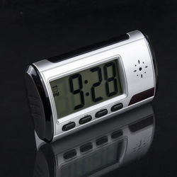 Digital Clock Hidden Camera DVR Motion Detection Alarm Video Recorder Security, Free &amp; Drop Shipping(China (Mainland))