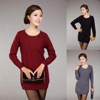 Женский свитер Bohemia style Dress Pullover Tunic Sweater Size W1319