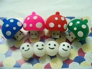 new style Cute cartoon Mushroom head model 4GB 8GB 16GB 32GB USB Flash USB 2.0 Memory  flash stick /pen/thumbdrive/gift