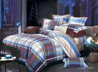 new arrivals british style lattice checker pattern home textile cotton 4pcs queen/full bedding sets comforter/quilt/duvet covers