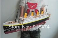 Hot-selling collection lovers gift remote control boat yacht model boat ship model