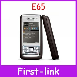 Nokia E65 Mobile Phone Unlocked Original Nokia E65 Gsm Cell Phone Quadband 3G WIFI Bluetooth Email Mp3(China (Mainland))
