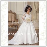 Flower girl dresses for weddings Girl party dress Flower Girls dresses  LJ027 Vestido de dama de honra de crianca